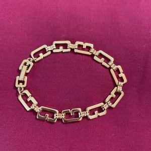 Vintage authentic Givenchy Gold bracelet